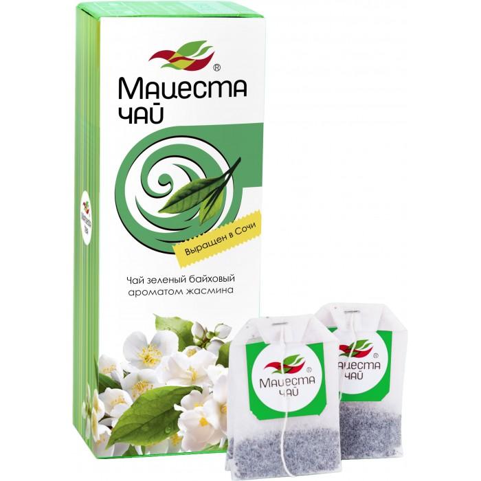 Чай Краснодарский Чай зеленый байховый С ароматом жасмина 25 пак.