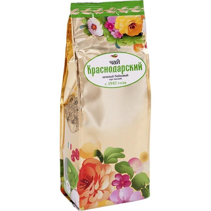 Чай Краснодарский Чай зеленый классический Отборный 200 г азерчай чай черный азерчай букет 200 г