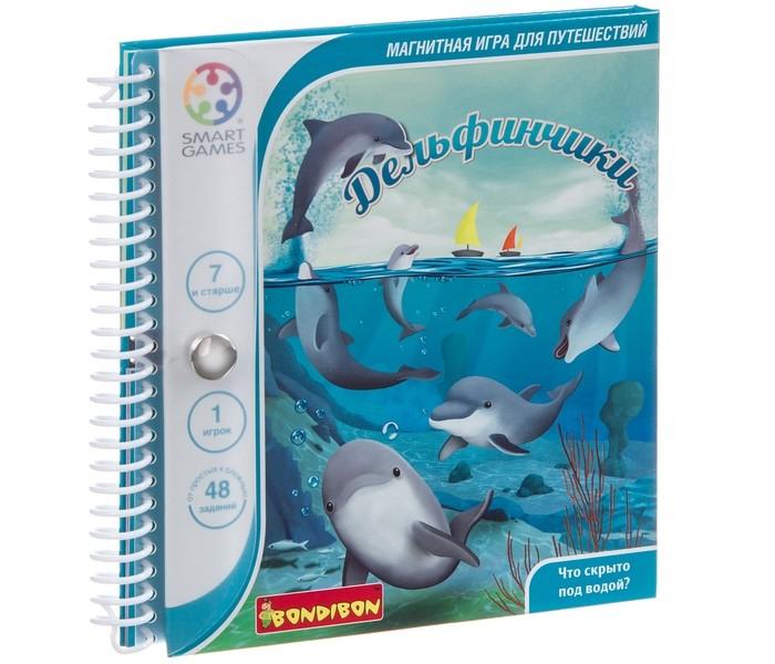 Картинка для Настольные игры Bondibon Логическая игра Smartgames Дельфинчики