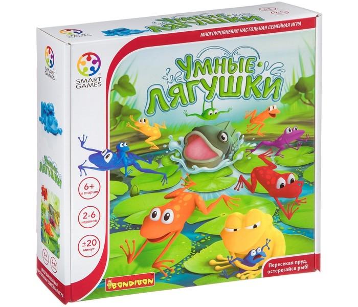 Картинка для Настольные игры Bondibon Логическая игра Smartgames Умные лягушки