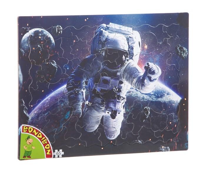 Картинка для Пазлы Bondibon Пазл Космонавт (65 деталей)