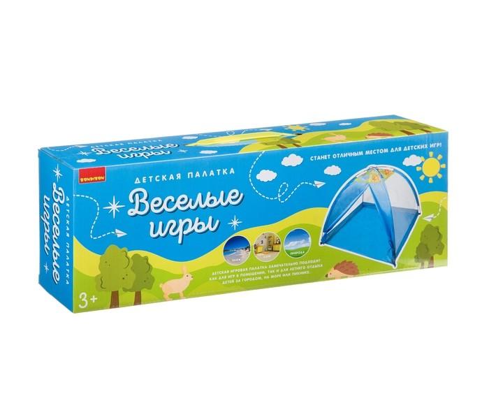 Картинка для Палатки-домики Bondibon Палатка Веселые игры