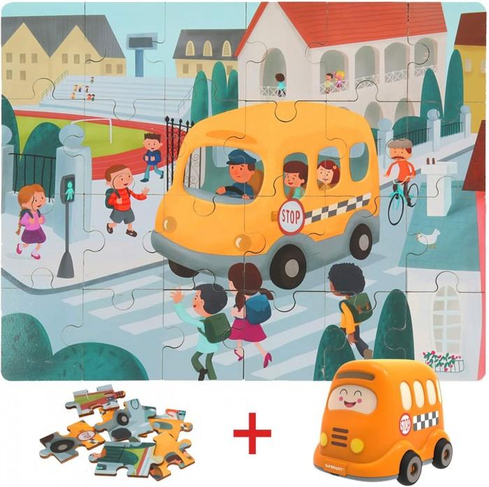 Картинка для TopBright Пазл Школьный автобус (24 детали)
