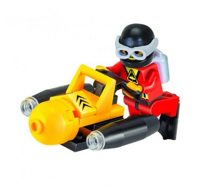 Конструкторы Enlighten Brick Подводный скутер с фигуркой (25 деталей)