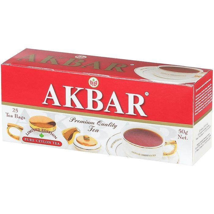 Чай Akbar Чай черный мелколистовой Limited Edition 25 пак чай akbar чай черный ароматизированный яблоко и шиповник 25 пак