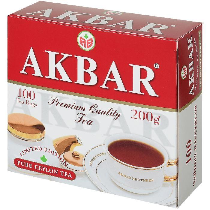 Чай Akbar Чай черный мелколистовой Limited Edition 100 пак чай akbar чай черный ароматизированный яблоко и шиповник 25 пак