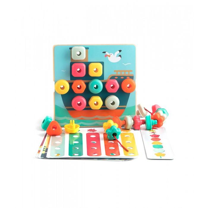 Купить Развивающие игрушки, Развивающая игрушка TopBright Игровой набор Мозаика и шнуровка 2 в 1