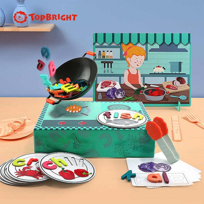 Картинка для Развивающая игрушка TopBright Алфавит на кухне