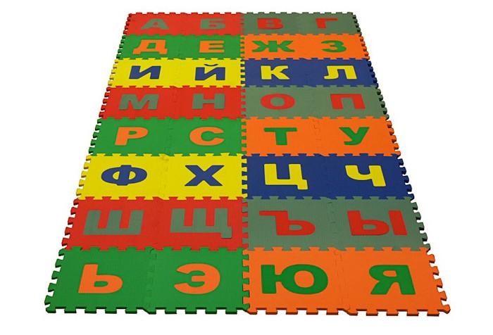 Купить Игровые коврики, Игровой коврик Eco Cover мягкий пол Алфавит Русский 25x25 см (32 детали)