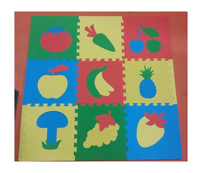 Картинка для Игровые коврики Eco Cover мягкий пол Сад-Огород 30x30 см (9 деталей)