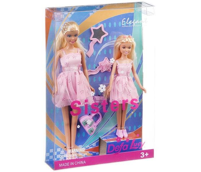Картинка для Куклы и одежда для кукол Defa Набор кукол Lucy Sisters