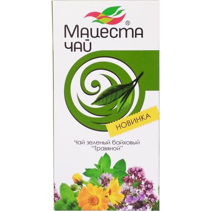 Чай Мацеста Чай зеленый байховый Травяной 20 пак.