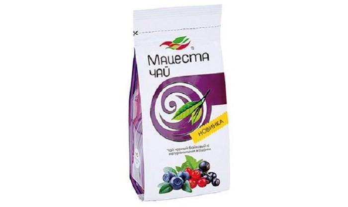 Чай Мацеста Чай черный байховый с натуральными ягодами 75 г недорого