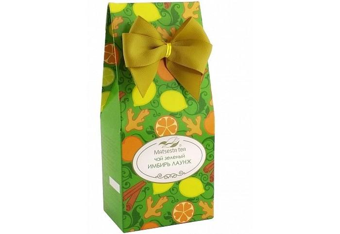 Чай Мацеста Чай зеленый Имбирный 75 г