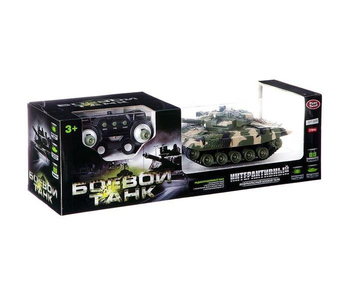 Картинка для Радиоуправляемые игрушки Play Smart Боевой танк на ик-управлении Full Funk М85893