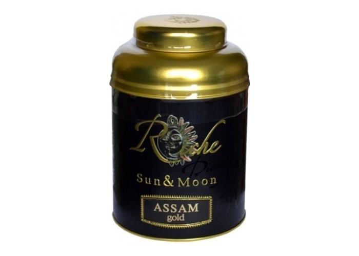Riche Natur Чай черный байховый индийский крупнолистовой Assam Gold 400 г