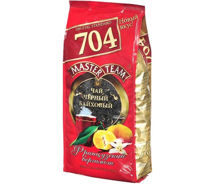 Чай Master Team Чай черный крупнолистовой Стандарт 704 Французский бергамот 250 г
