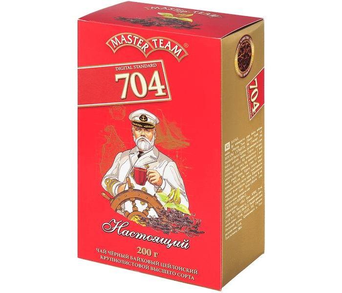 Чай Master Team Чай черный крупнолистовой Стандарт 704 Настоящий 200 г азерчай чай черный азерчай букет 200 г