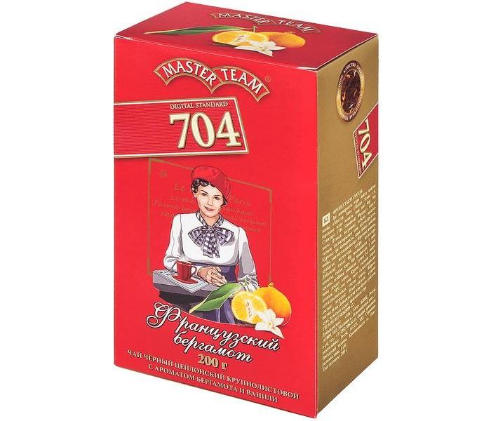 Чай Master Team Чай черный крупнолистовой Стандарт 704 Французский бергамот 200 г азерчай чай черный азерчай букет 200 г