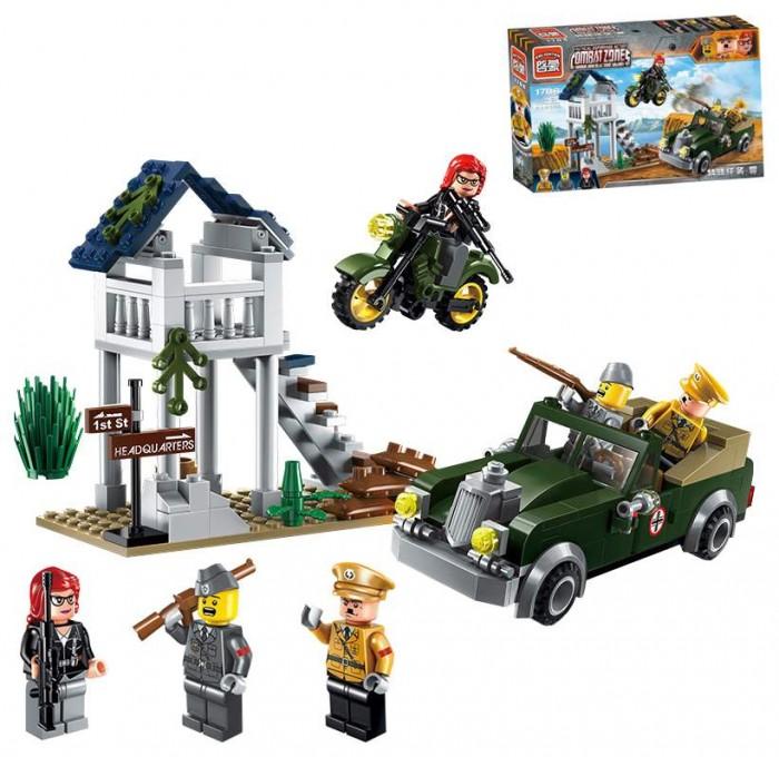Фото - Конструкторы Enlighten Brick Военная машина (206 деталей) конструктор enlighten brick город 1118 скорая помощь г72906