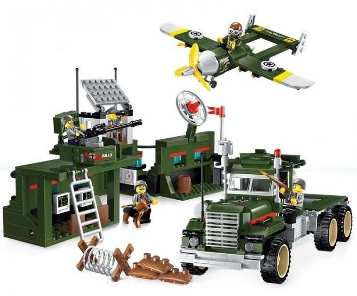 Конструктор Enlighten Brick Военная техника (687 деталей)