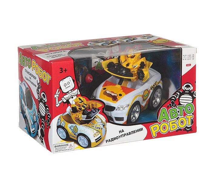 Купить Радиоуправляемые игрушки, Zhorya Радиоуправляемая машинка Авто-Робот М42393