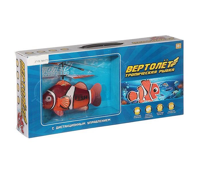 Купить Радиоуправляемые игрушки, Zhorya Радиоуправляемый вертолет Тропическая Рыбка
