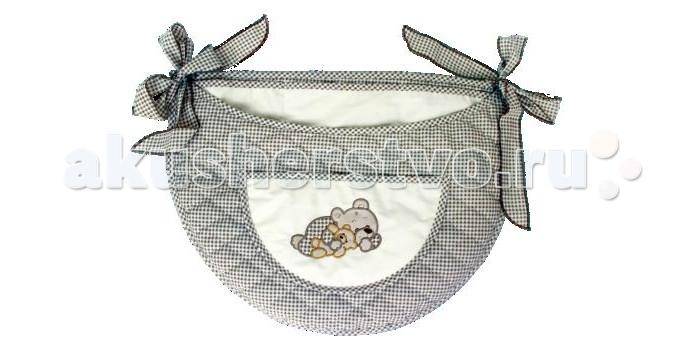 Постельные принадлежности , Карманы и панно Bombus Карман на кроватку Мими арт: 97005 -  Карманы и панно