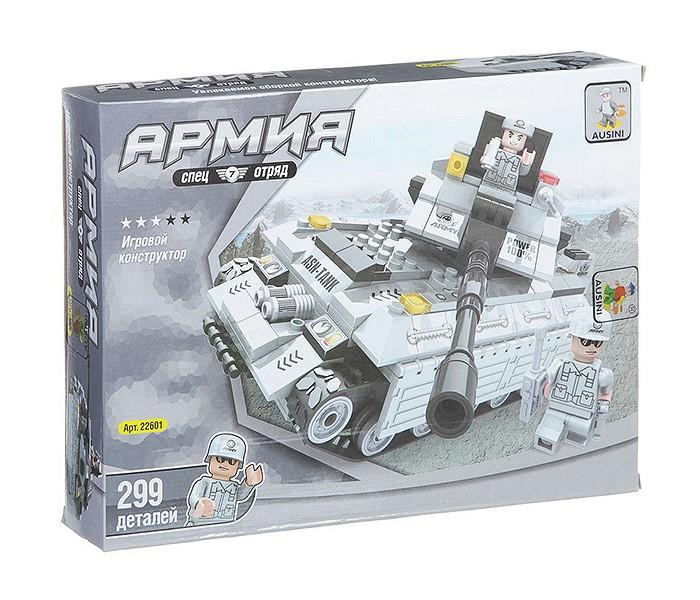 Картинка для Конструкторы Ausini Танк Армия (299 деталей)