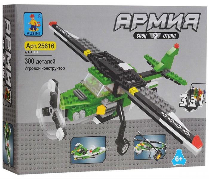 Картинка для Конструкторы Ausini Армия 3 в 1 (300 деталей)