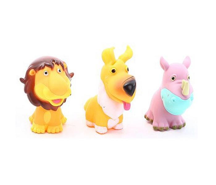 Игрушки для ванны Zhorya Детская игрушка Пищалка 3 шт.