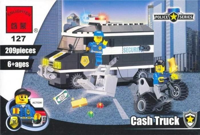 Картинка для Конструкторы Enlighten Brick Cash Truck (209 деталей)