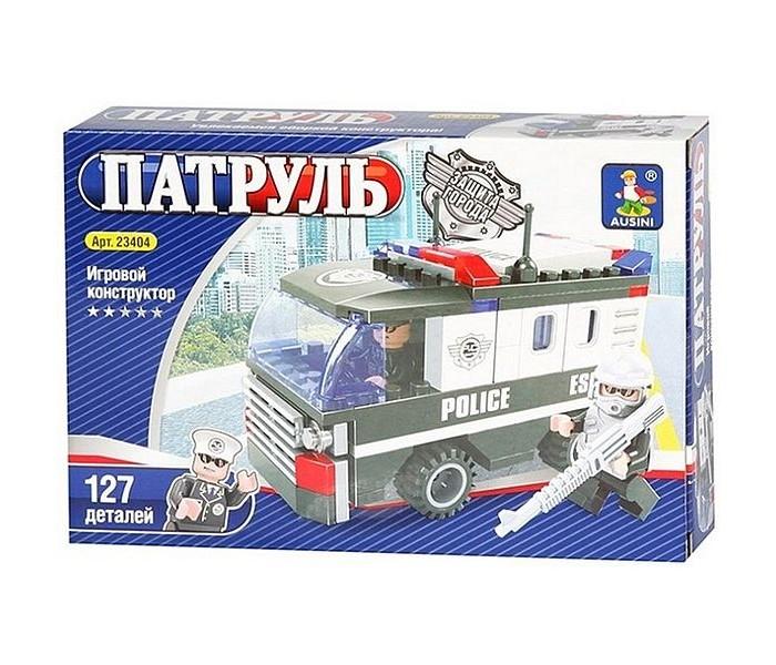 Картинка для Конструкторы Ausini Полиция Автобус (127 деталей)