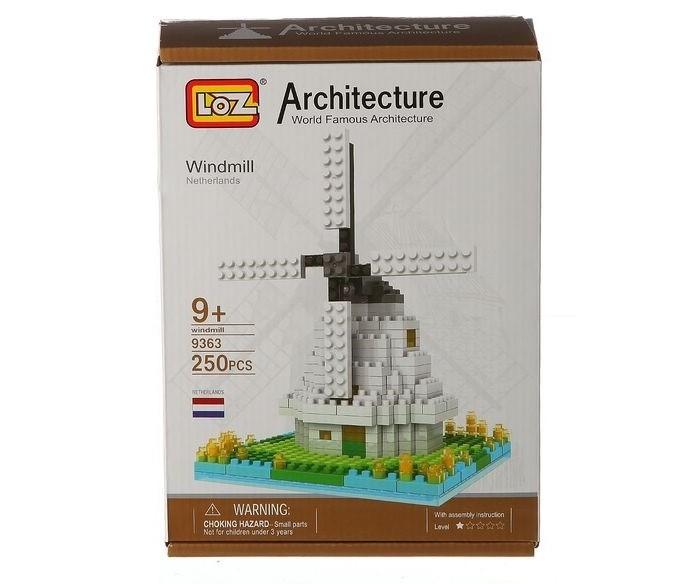 Картинка для Конструкторы Loz Ветряная мельница (250 деталей)