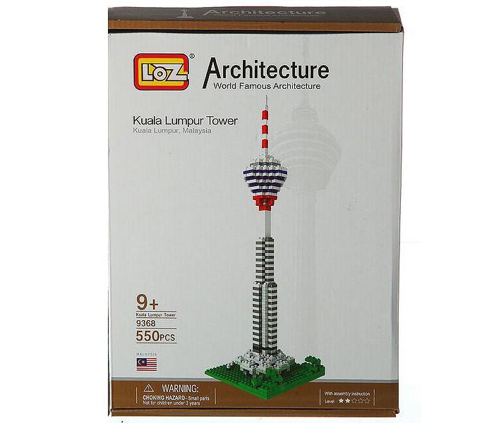 Картинка для Конструкторы Loz Башня Куала-Лумпур (550 деталей)