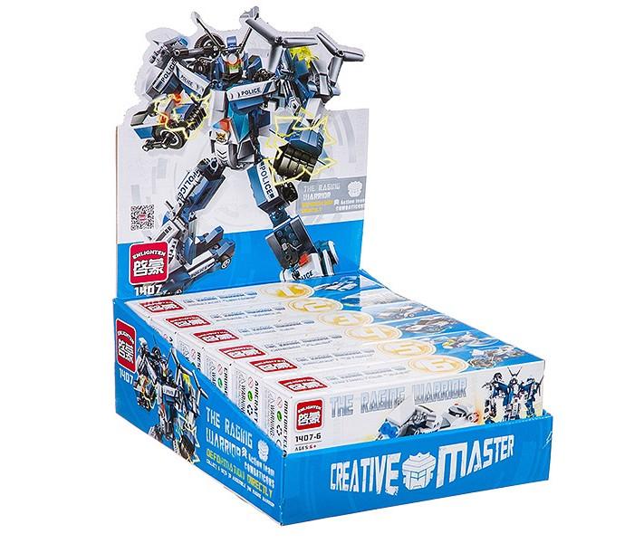 Конструкторы Enlighten Brick Робот-трансформер конструктор enlighten brick военный робот 318 элементов