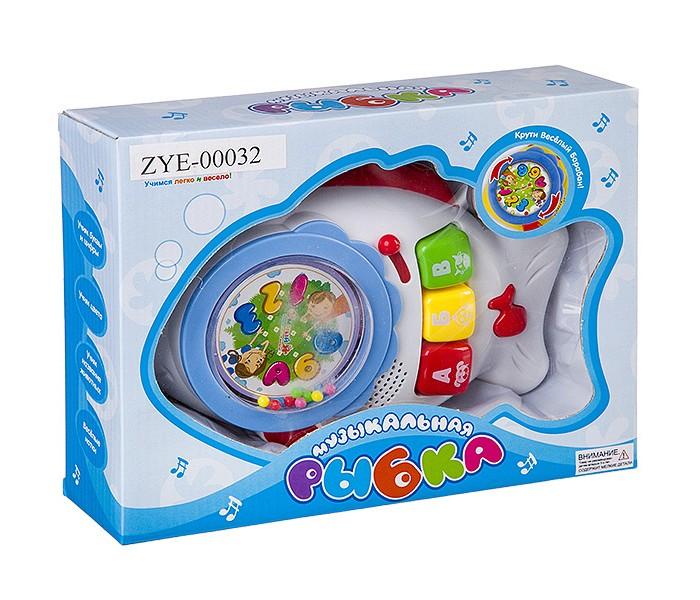 Электронные игрушки Zhorya Обучачающая игрушка Музыкальная Рыбка