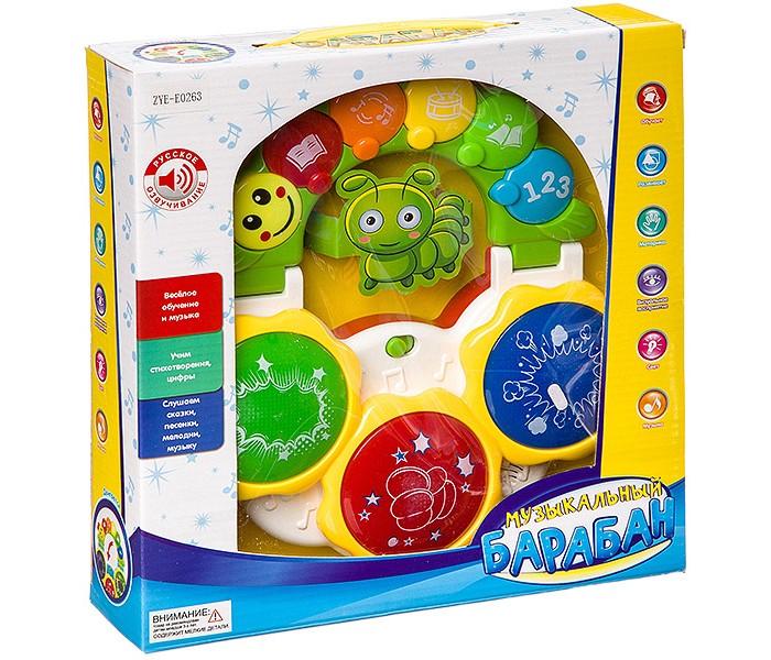 Фото - Электронные игрушки Zhorya Барабан музыкальный Умный Я развивающие игрушки zhorya музыкальный жираф