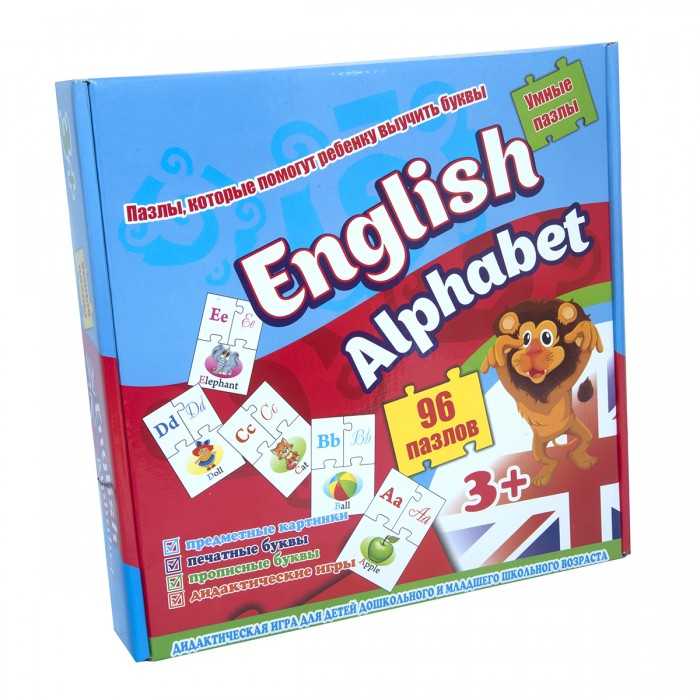 Пазлы Strateg English alfabet