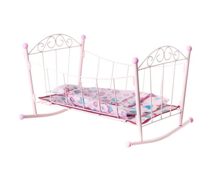 Купить Кроватки для кукол, Кроватка для куклы Yako металлическая