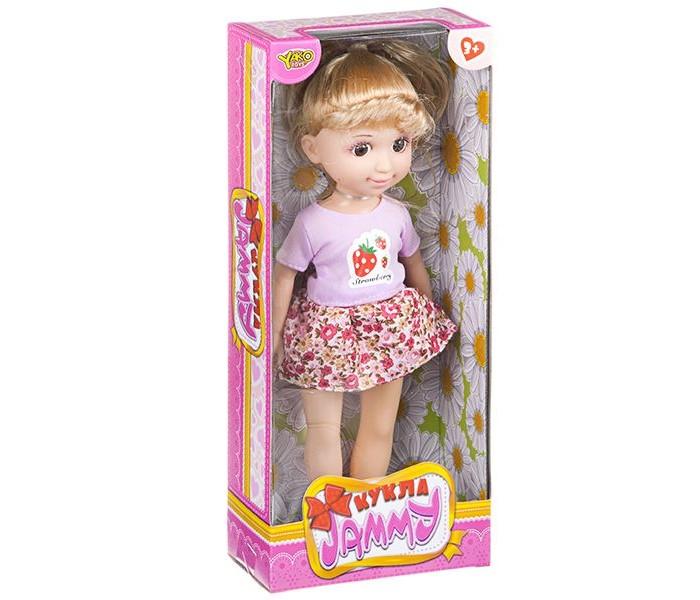 Куклы и одежда для кукол Yako Кукла Jammy 25 см Д83851 кукла yako jammy красотка 25 см m6331