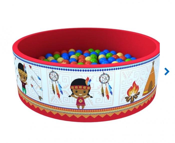 Купить Сухие бассейны, Romana Сухой бассейн Индейцы + 200 шаров