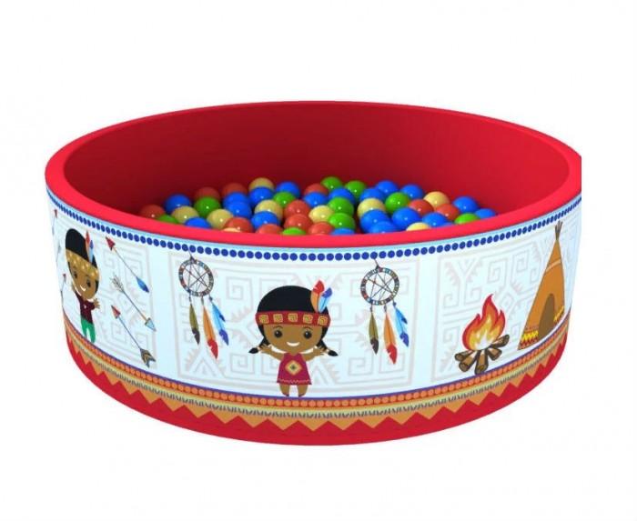 Купить Сухие бассейны, Romana Сухой бассейн Индейцы + 300 шаров