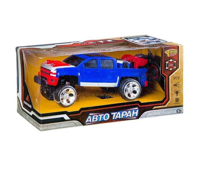 Радиоуправляемые игрушки Yako Радиоуправляемая машина АвтоТаран yako yako радиоуправляемая машина городские службы эвакуатор 1 20