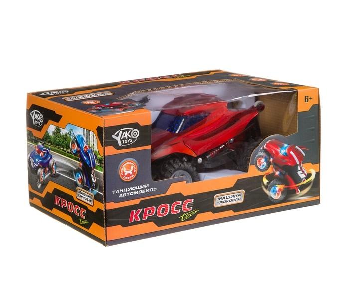 Радиоуправляемые игрушки Yako Радиоуправляемая трюковая машина с музыкой и подсветкой FullFunc