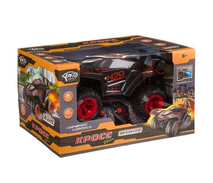 Фото - Радиоуправляемые игрушки Yako Радиоуправляемая машина с подсветкой и паром FullFunc радиоуправляемые игрушки yako радиоуправляемый джип fullfunc