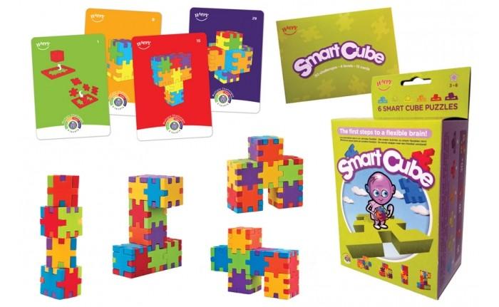 Happy Cube Смарт куб 6 пазлов и 15 карточек