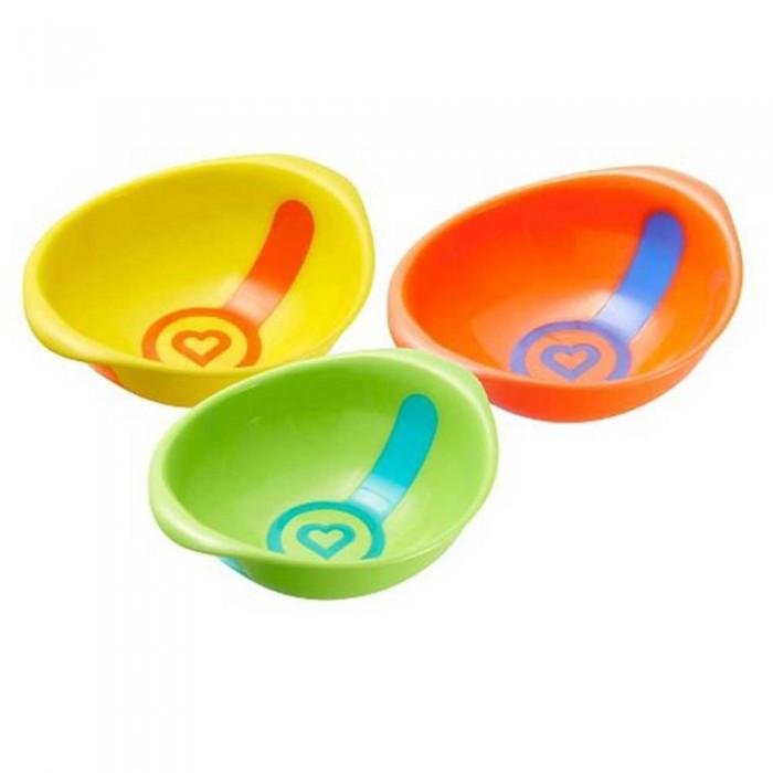 Посуда Munchkin Набор мисок White Hot 3 шт. набор тарелок munchkin white hot 2шт