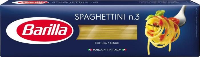 Макаронные изделия Barilla Макароны Спагеттини № 03 500 г макаронные изделия barilla макароны феттуччине 66 500 г