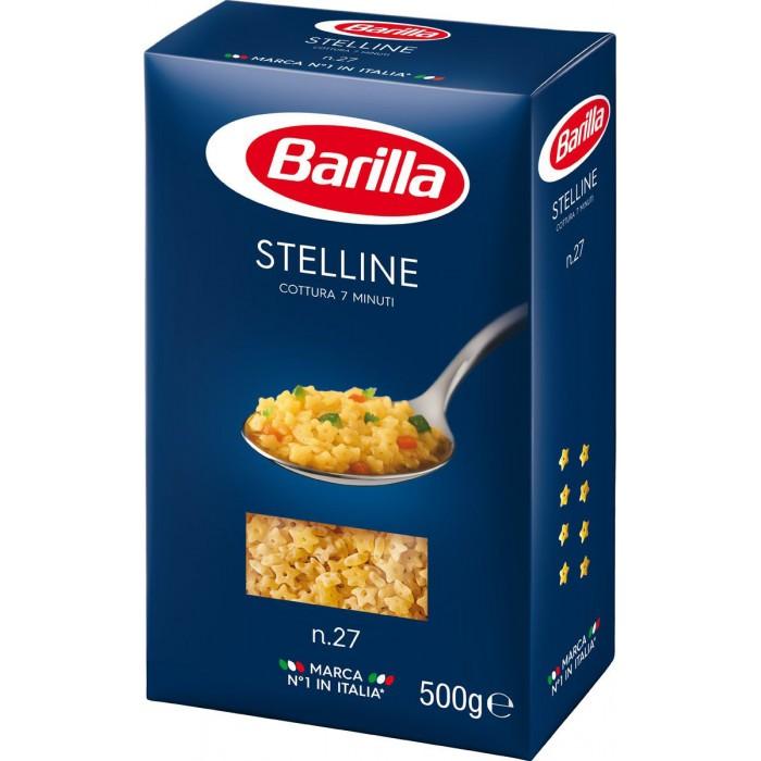 Макаронные изделия Barilla Макароны Стеллине № 27 500 г макаронные изделия barilla макароны феттуччине 66 500 г